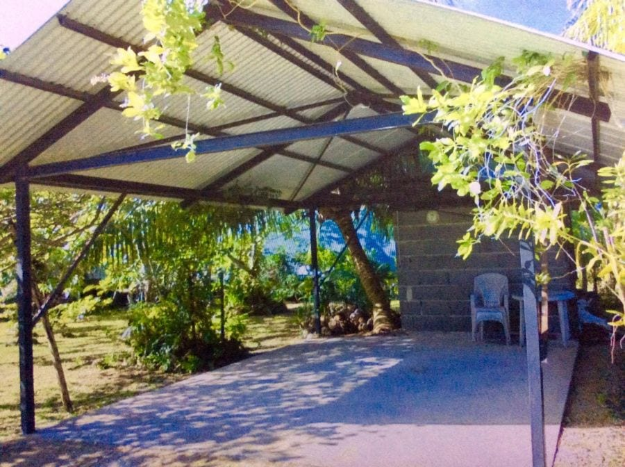 A Vendre Terrain avec Maison sur Huahine