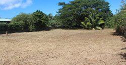 A vendre terrain plat 1258m² Mitirapa/Taravao