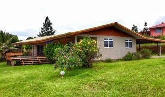 A vendre Maison F5 à Taiarapu-ouest (Vue mer)