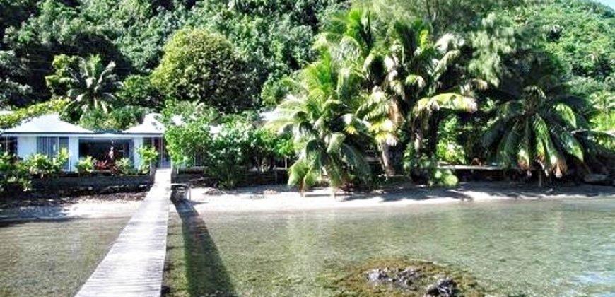 A vendre Pension de famille à Vairao,Tahiti (Bien d'exception)