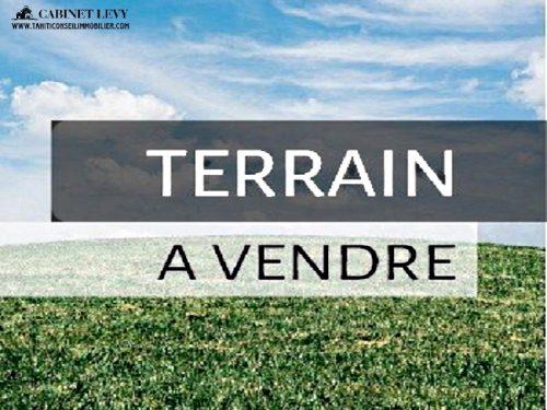 A vendre Terrain 600M2 à Taravao-Centre