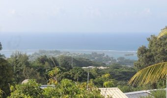 A louer maison F5 200m² hauteur de super mahina, belle vue mer.