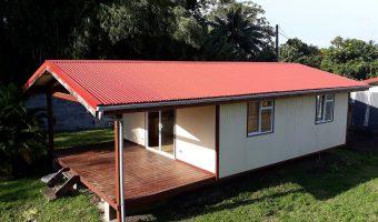 A vendre Maison F2 C/Mer à Vairao (Route de Teahupo'o)