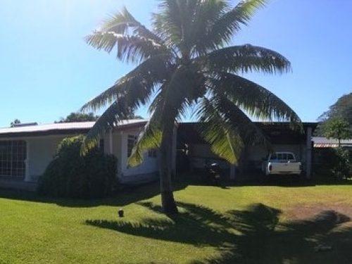 A vendre maison F5 à PAPENOO