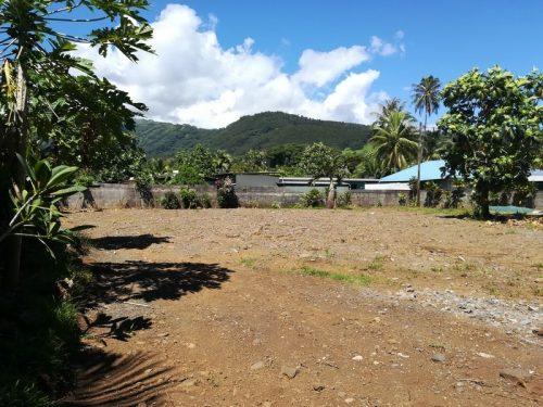 A vendre terrain de 823m² – L'Embouchure – PAPENOO