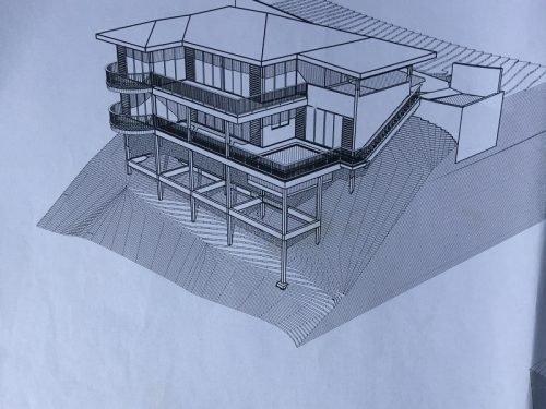 A vendre grande Maison (à Terminer) sur terrain de 1352M2 à Punaauia