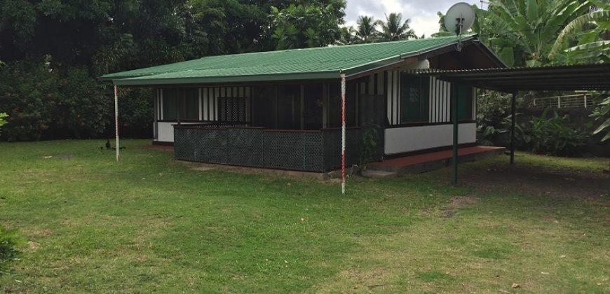 A louer maison F3 (non meublée ) à Punaauia-Proche plage