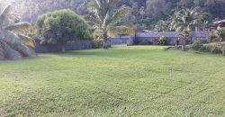 A vendre terrain de 1200M2 (Clôturé) C/Mont. à Papara