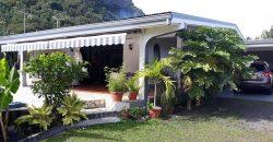 A louer Maison F4 (Meublée/équipée) C/Mont. à Paea (Avec piscine)