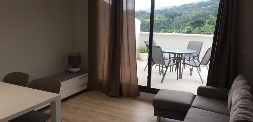 Pamatai à louer appartement F2 neuf – vue Mer