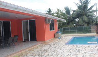 A vendre 2 maisons sur terrain 1177m², Afaahiti (Très rare)