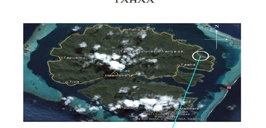 A vendre 11 Hectares à Tahaa (Baie de Raai )