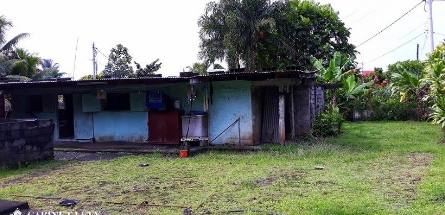 A vendre terrain Viabilisé de 1061 M2 C/Mont. à Papara-Centre