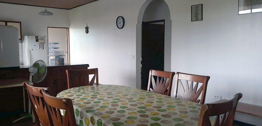 """A louer maison F4 """"meublée/équipée"""" à Papeari (A 5 minutes de Taravao)"""