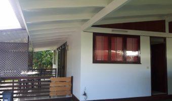 A louer maison F4 meublée/équipée dans un quartier calme et familial à Mahina