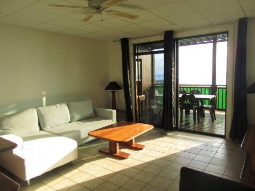 A louer appartement F3 en rez de jardin avec vue mer/Moorea – PUNAAUIA