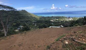 A vendre – Terrain en hauteur avec vue lagon et montagne à MAHAREPA