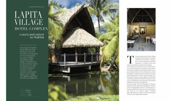 "The LUXURY Complex Hotel "" THE LAPITA"" Huahine island"
