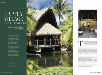 "The LUXURY Complex Hotel "" THE LAPITA"" Huahine island"