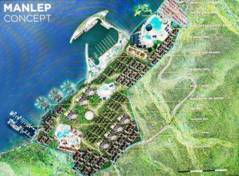 Land 45 hectares + 1,1 kms white sand Beach Vanuatu