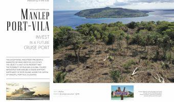 """The """" MAILEP"""" L.T.D of 45 hectares + 1,1 kms de plage de sable Blanc Vanuatu"""