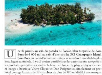 Champagne Island Bora Bora