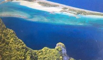12 149 m2 plat sur le Pick de Bora Bora vue a 380 degrés