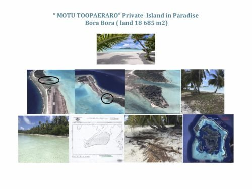 Private Island for Sale in Bora Bora, Unique , Prestige ,white sand Beach