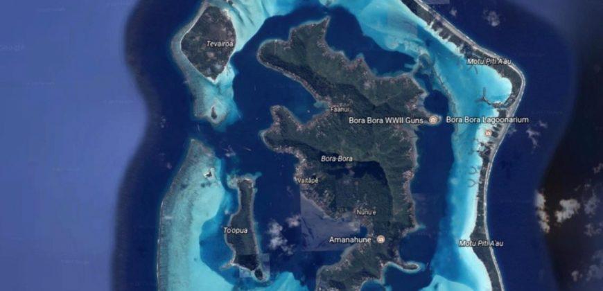 TOOPUA Bora Bora From the Beach to the Mountain 12 857m2