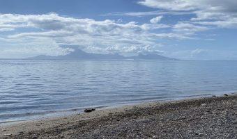 A vendre bien d'exception, terrain bord de mer 4988m2 début Paea,